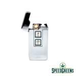 Dual Silver USB Arc Lighter 1