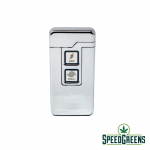Dual Silver USB Arc Lighter 2
