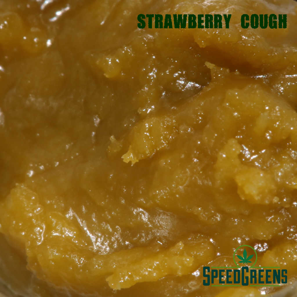 High Voltage LIVE RESIN Strawberry Cough 6