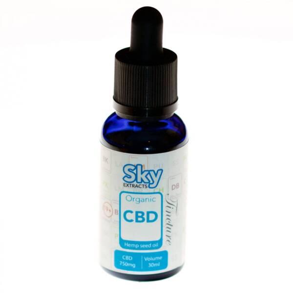 Sky Extract Tincture Organic CBD min