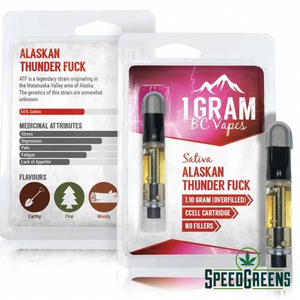 BC Vapes Sativa Alaskan Thunder Fuck fb