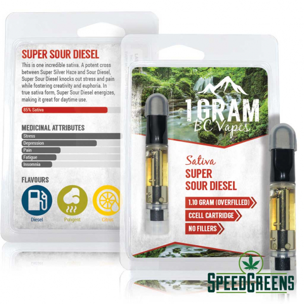 BC Vapes Sativa Super sour diesel fb