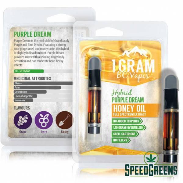 Honey oil Hybrid Purple Dream Both1