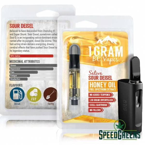 Honey oil sour diesel