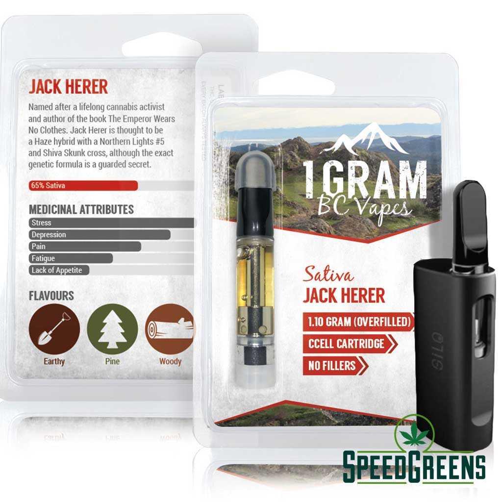 jack herer combo kit