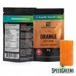 Twisted Extracts Orange Sativa 40mg CBD-40mg THC both-2
